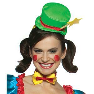 Star Clown Mini Top Hat on Headband