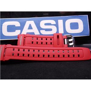 Casio Watch Band G-9000 MX-4 Red Mud Resist Dual Illuminator. Strap. Watchband