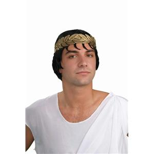 Julius Caesar Costume Kit Laurel Headband and Wig