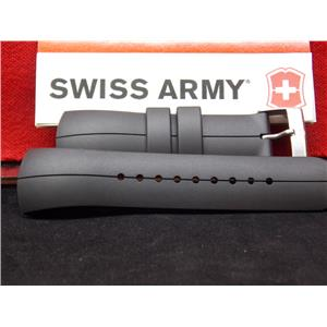 Swiss Army Watch Band ST3000 Black Rubber Strap.For StarTech 3000 Digi/Ani Watch