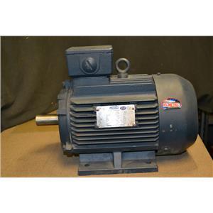 LEESON N100T17FZ1C 3HP IEC ELECTRIC MOTOR, 1750 RPM, 230/460VAC, DF100L