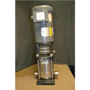 Grundfos CR 4 NH Vertical Centrifugal Pump with Baldor 2HP 230/460VAC VM3555