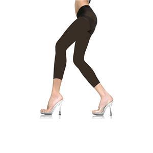 Black Capri Footless Tights Material Girl 80's Pop