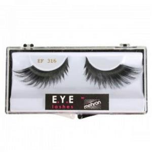 Mehron E.Y.E. Black Feather False Eyelashes