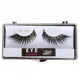 Mehron E.Y.E. Diamond Feather False Eyelashes