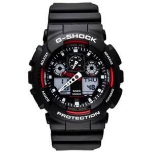 Casio G-Shock. GA100-1A4. Magnetic Resist. Countdown Timer. 4 Alarms. 200M Water Resistant Divers Wa