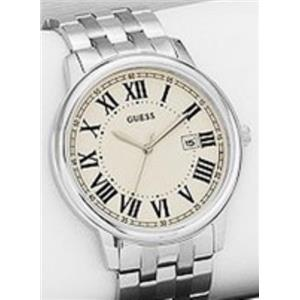 Guess U0384G1.Perfect Hybrid for Man or Woman. Multifunctional.Round White Mineral Dial. Interchange