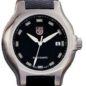 Luminox Model 701. 700 Silver Series Black Face
