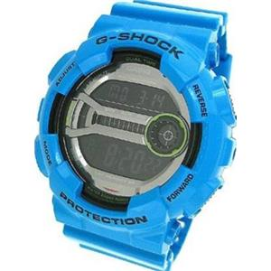 Casio G-Shock GD110-2CR. XL Super LED. Lap M60. 200M Resist. Blue Bezel/Band.