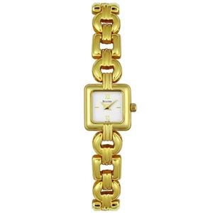 Bulova Womens 97T38. Gold Tone Bracelet Watch.