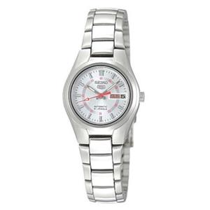 Seiko Women's SYMC21K1 Automatic Watch. Seiko 5. Self-Winding Movement. Stainless Steel Silver: Brac