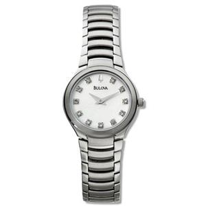 Bulova Women's 96P20. Diamond Accent Watch.
