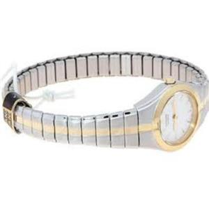 Citizen Women's EK1144 -90A. Two Tone Stainless Steel Expansion Bracelet Watch.