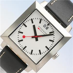 Mondaine Men's Leather Watch A685.30336.11SBB