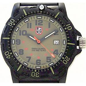 Luminox 8813. Navy Seal Black Ops Anniversary Edition. Military Carbon Khaki Dial w/Blk Strap. Glo M