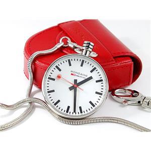 Mondaine A660.30316.11SBB. Official Swiss Railways Pocket Watch. Evo. White Dial.