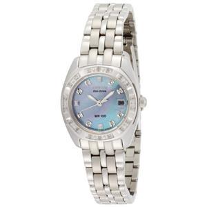 Citizen EW1590-56Y. Glitz.Diamond Accents.Eco -Drive Movement.MOP Dial.Stainless Case/Bracelet.100M