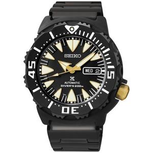 Seiko SRP583.Prospex Collection.Dive.Automatic.Black Dial.Black Ion Stainless Bracelet.200M Resist.