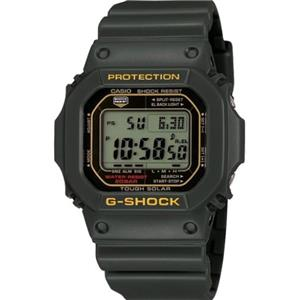 Casio G-Shock G-5600 A-3. Tough Solar. Green/Olive. Wrist Flick Full Auto Backlight.