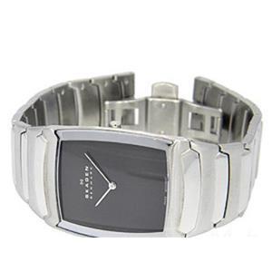 Skagen 584lsxm. Elegant Men's Watch. Steel Silver Tone Case and Bracelet with Swiss Movement .