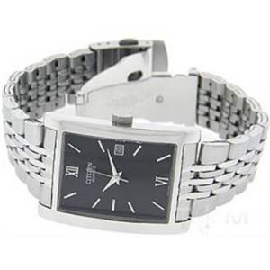 Citizen Men's BH1370-51E. Silver Tone Stainless Steel Case/Bracelet. Black Dial Watch.
