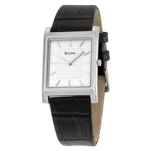 Bulova Men's 96A23 Dress Strap Watch