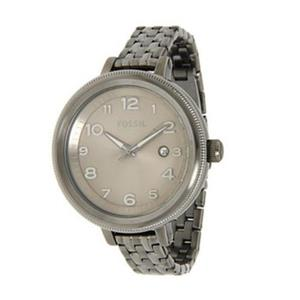 Fossil Womens AM4390. Bridgette. Smoke. Stainless Steel. Quartz Watch.