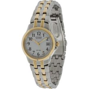 Citizen Women's EW1544 -53A. Eco-Drive Silhouette Sport. Two-Tone Bracelet Watch.