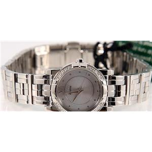 Citizen Women's EP5540 -56A. Elektra Eco-Drive Diamond Bezel. Stainless Steel Bracelet Watch.
