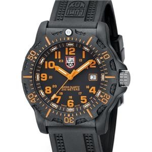 Luminox Navy Seals A8819.GG Black Ops Carbon Series Black/Orange Watch
