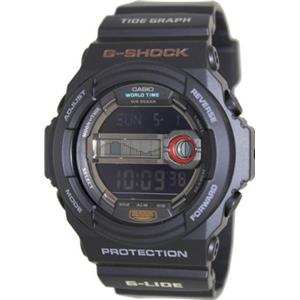 Casio G Shock GLX150-1. Flashing Alert With Alarm.Tide / Moon Graph Data. Multi-Function Countdown T