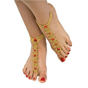 Bollywood Foot Decorations Costume Accessory