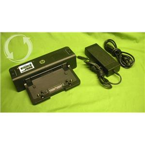 HP VB041AA 90w Docking Station w/ AC adapter, for 8440p 8460p 6545b, more [51]