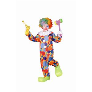 RG Costumes Polka Dots Clown Child Costume Size Small 4-6