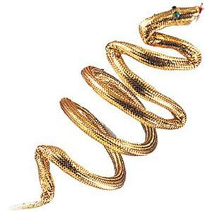 Gold Snake Armband Bracelet Asp Cleopatra