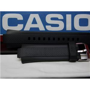 Casio Watch Band EQW-A1000,EQW-M1100 Black Resin Strap Edifice Tough Solar Mens