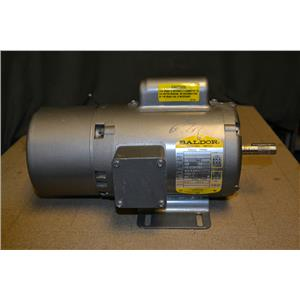 Baldor 1/4HP Single Phase Motor W/ Stearns Brake, BL3516, 1725 RPM, 115/208-230V