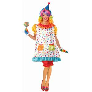 Women's Wiggles the Clown Adult Costume Standard Size