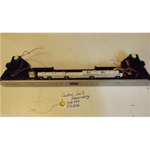 BOSCH DISHWASHER 746432  770216  control unit, panel   (scuffs)  used part