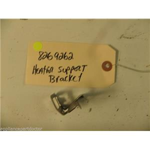 WHIRLPOOL DISHWASHER 8269262 HEATER SUPPORT BRACKET USED PART ASSEMBLY F/S