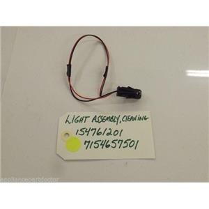 Electrolux Dishwasher 154761201  7154657501  Light Assembly,cleaning  used