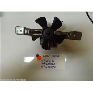 REFRIGERATOR WR60X171 WR60X160 WR60X172 EVAPORATOR MOTOR W/ BLADE  USED