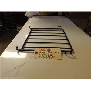 "Kenmore  316419401 Half Oven Rack 12 1/8""  X  9 7/8"" NEW W/O BOX"