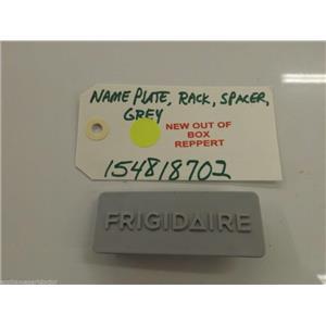 FRIGIDAIRE DISHWASHER 154818702   Nameplate,rack Spacer ,grey NEW W/O BOX