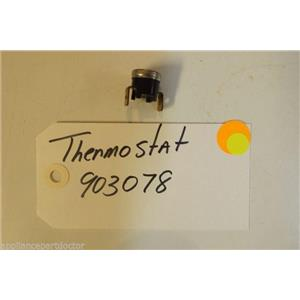 MAGIC  CHEF DISHWASHER 903078 Thermostat  used part