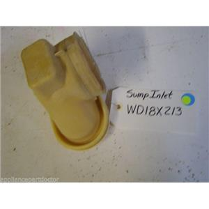 GE DISHWASHER WD18X213 Sump Inlet USED PART