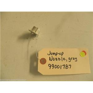 MAYTAG DISHWASHER 99001787 GRAY JUMP UP NOZZLE USED PART ASSEMBLY