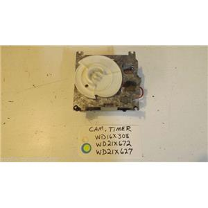 GE DISHWASHER WD16X308  WD21X672  WD21X627  Cam Timer used part