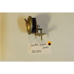 Whirlpool  Washer 363301  Switch  water level used part
