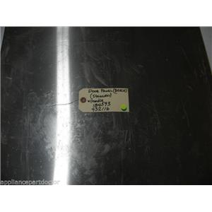BOSCH DISHWASHER 184593 432116  FRONT PANEL W/ HANDLE *SOME  SCRATCHES & DINGS